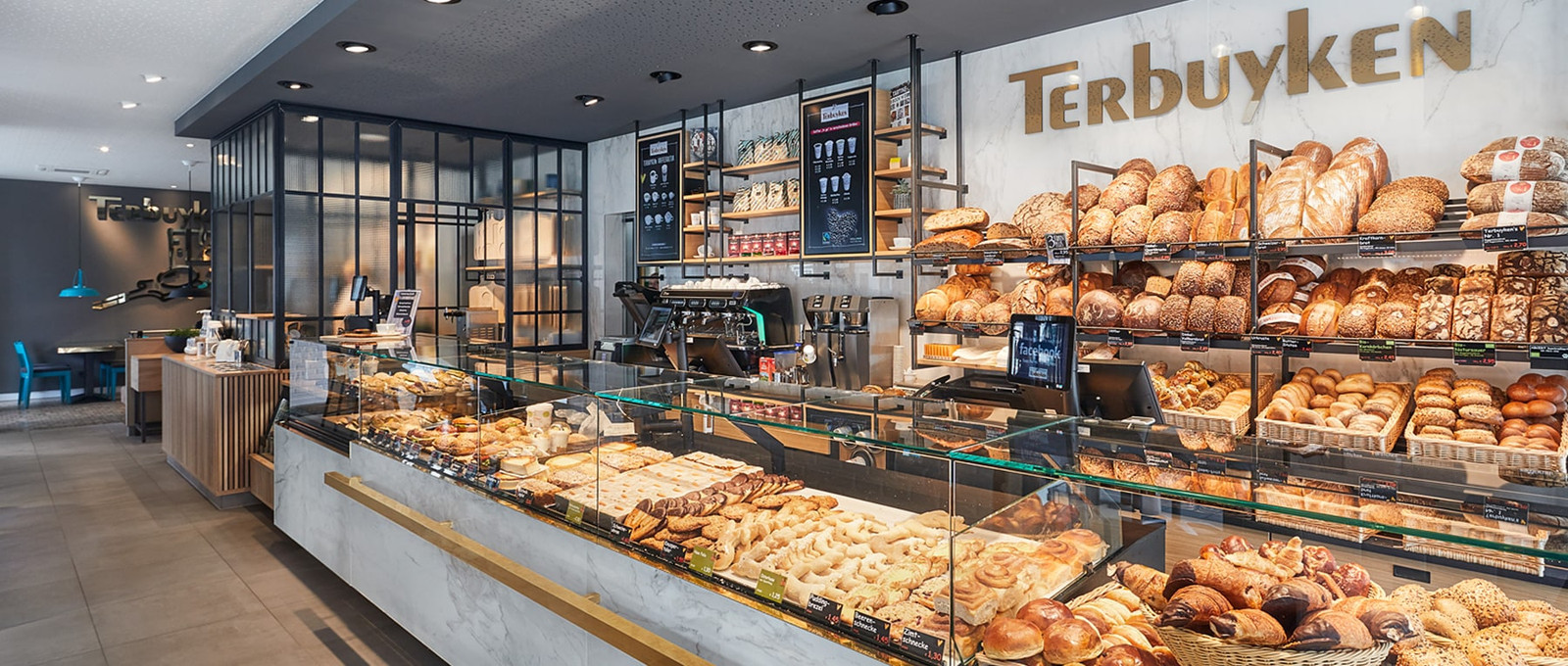 Terbuyken bakery – Unique, modern and stylish