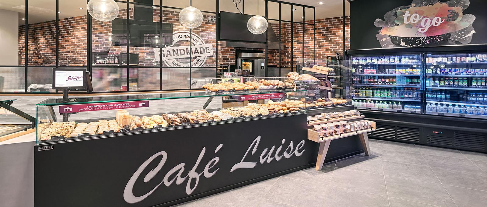 Schäfer's Café Luise – Modern & historisch angehaucht