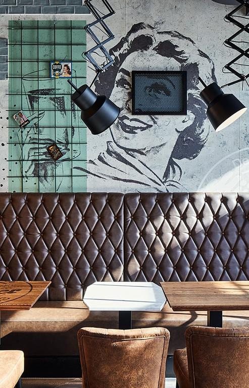 Дерзкие цвета дополняют современный и модный дизайн