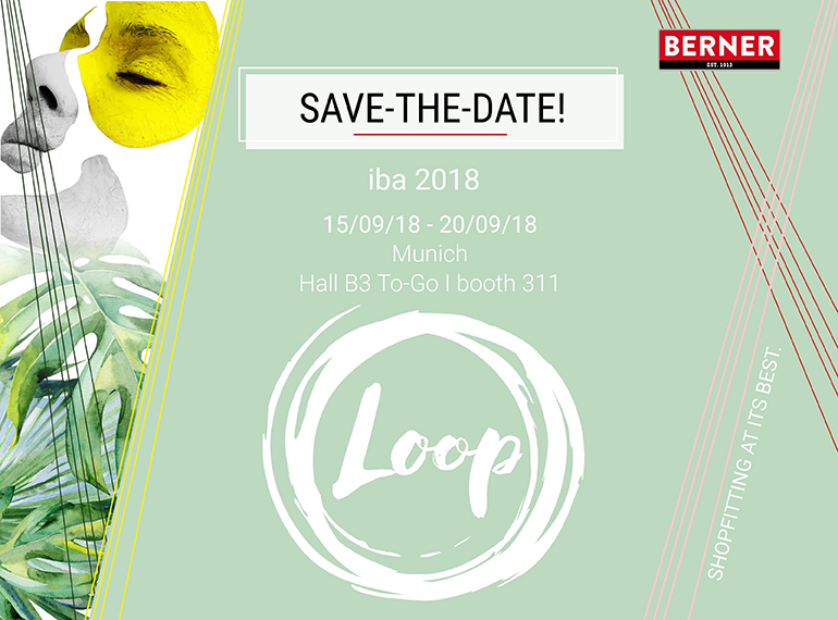 BERNER Loop iba - Save the Date